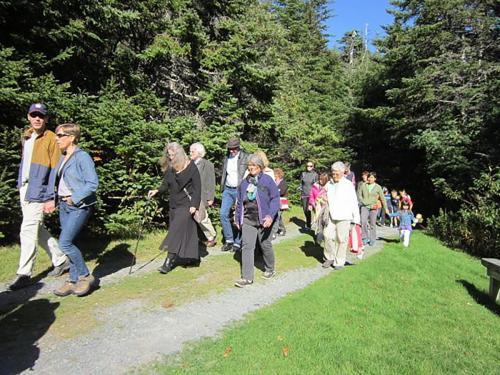 Story Walk, MUN Botanical Gardens, 2015