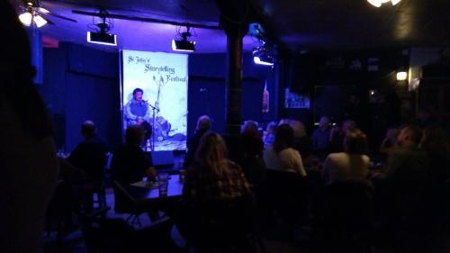 Angus Andersen performing at The Ship Pub, 2017